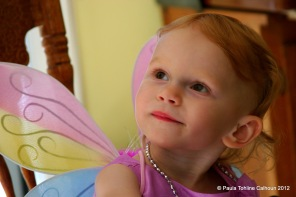 "Our ""Fairy Princess,"" Zoë Alyson Calhoun, Two Years Old"