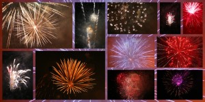 Fireworks, Lake Junaluska, July 4, 2012
